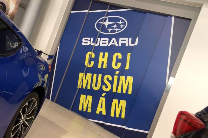 7 Subaru vČeské republice
