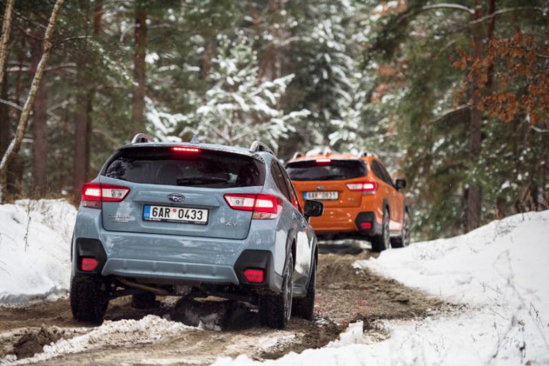 Zimní soutěž oSubaru XV na víkend